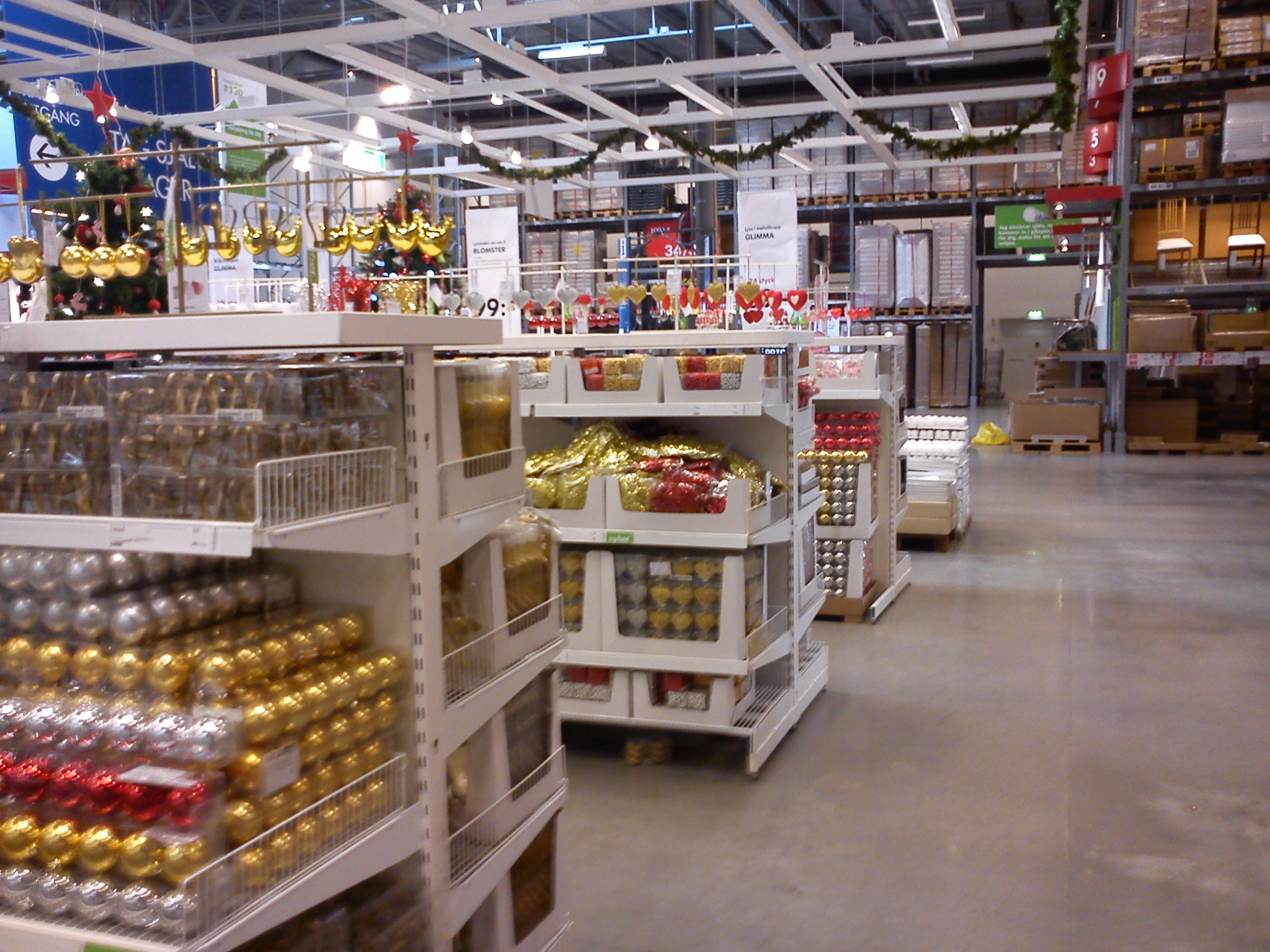 Julsaker på IKEA